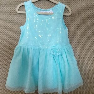 Girls 2T Mint Green Tutu Dress